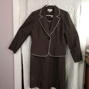 2 Piece Dress Jacket Suit Set Fully Lined